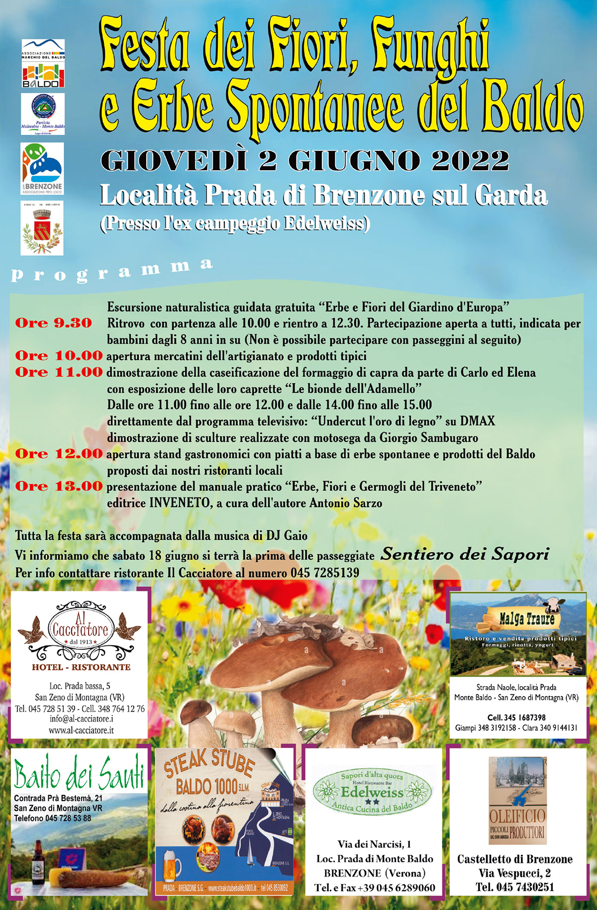 Flower Festival in Prada on 2 June 2018