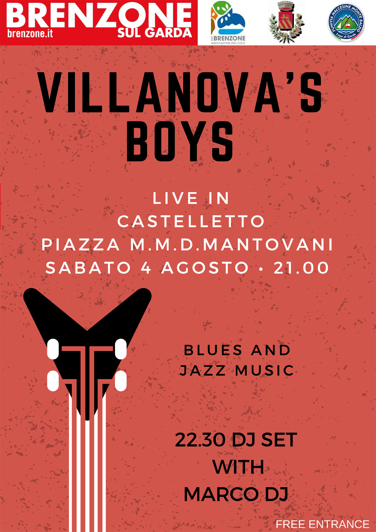 Villanova's boys - concert on 05.07.2018